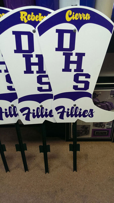 fillies-yard-sign