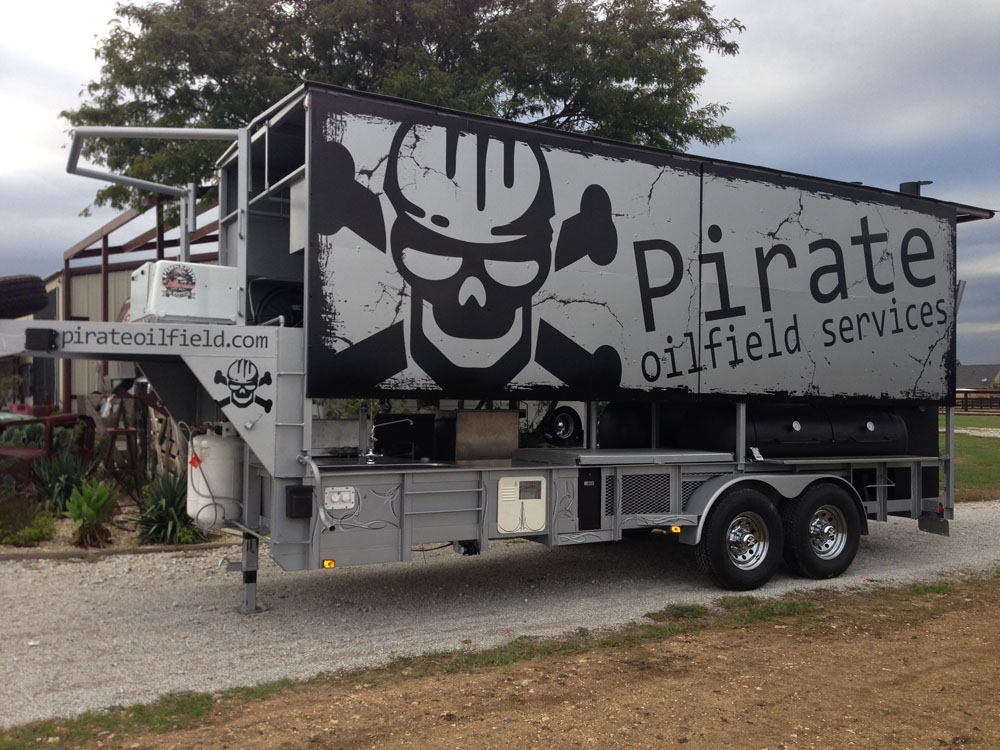Pirate Oilfield Cooker