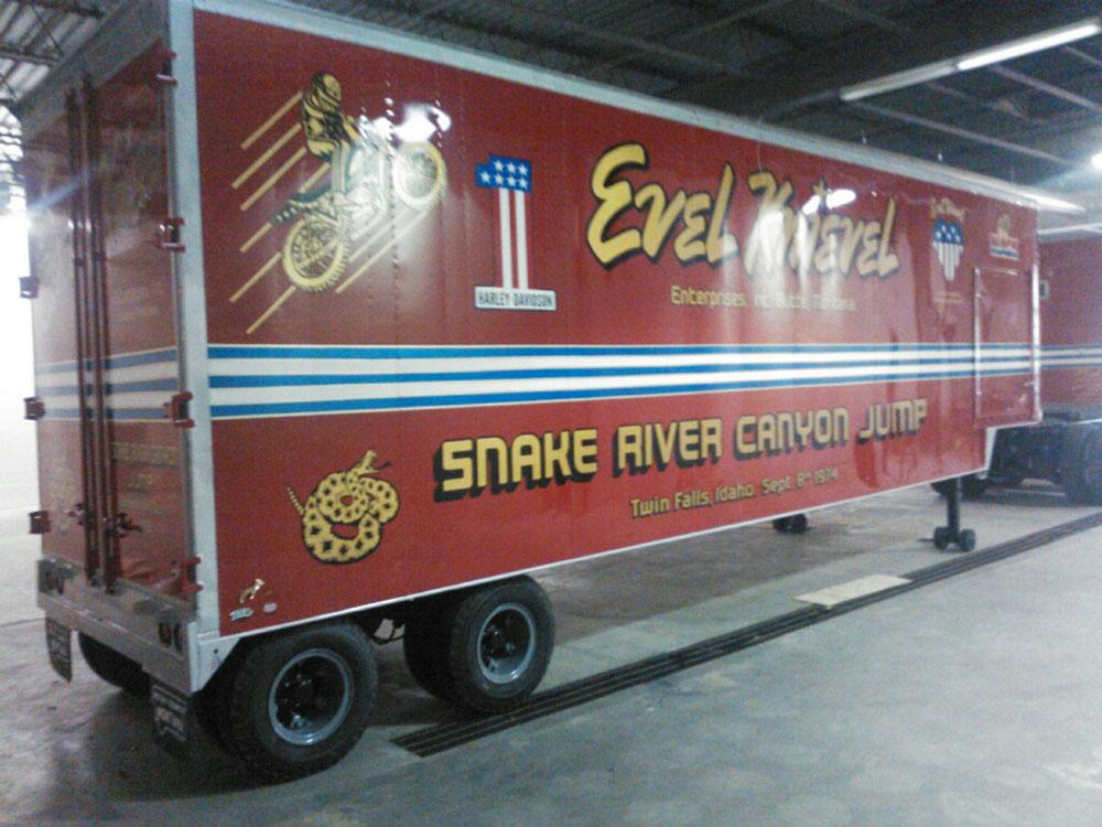 Evel Knievel Truck