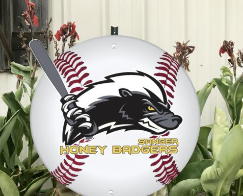 honey-badgers-baeball-yard-sign