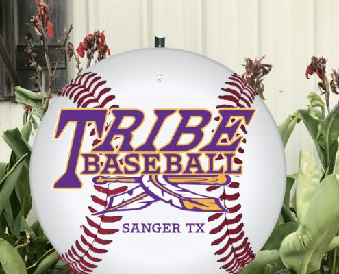 tribe-baseball-yard-sign